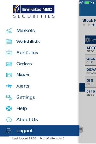 eBroker Mobile - náhled