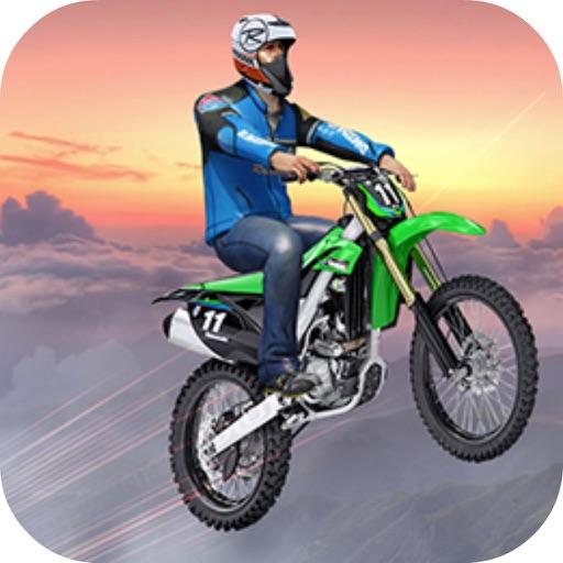 Bike Stunts Risky Sky