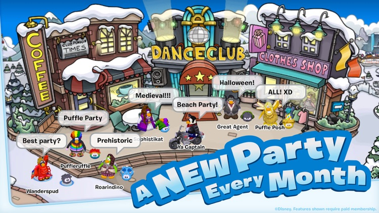 Club Penguin screenshot-0