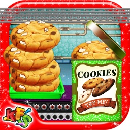 Peanut Butter Cookies Factory – Bake delicious dessert in this cookie maker game