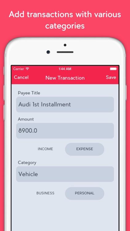 Evenflo - Expense Manager screenshot-4