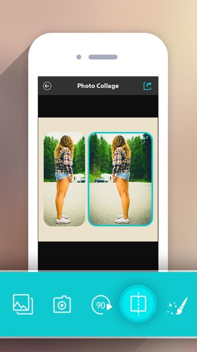 Photo Collage HD Pro – Pic Frame Maker Grid Editor Screenshot