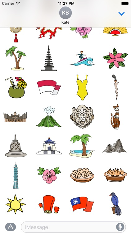 Asia Stickers