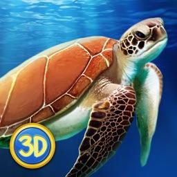 Ocean Turtle Simulator: Animal Quest 3D