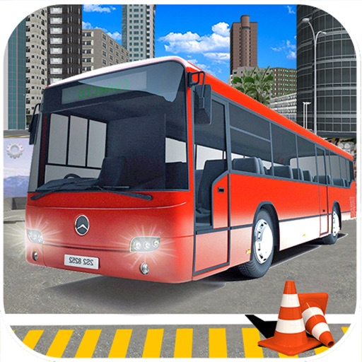 Snow Bus Parking : Free Par-King Sim-ulator Game-s