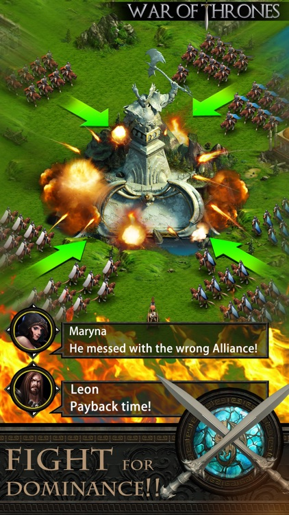 War of Thrones – Dragons Story & Kingdoms on Fire screenshot-3