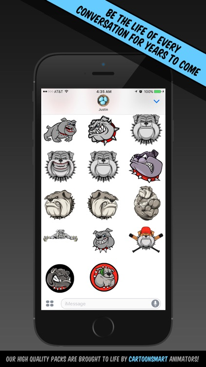 Bulldog Stickers screenshot-3