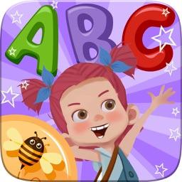 ABC Alphabet Phonics Coloring Book - English Vocabulary For Preschool Kids Games