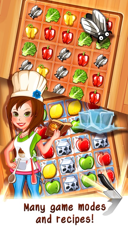 Tasty Tale - the crazy cooking puzzle game screenshot-3