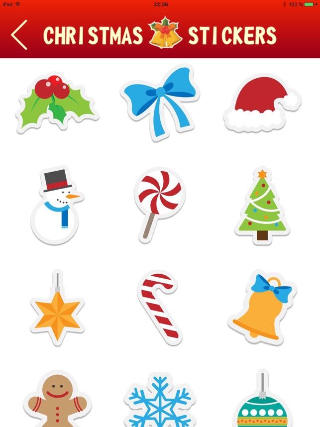 Christmas Emoji - Photo Stickers, New Year Emojis im App Store
