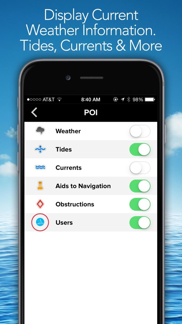PRO CHARTS - Marine Navigation Screenshot