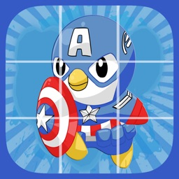 Puzzle Hero Captain Penguin