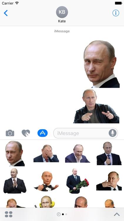 Putin Stickers