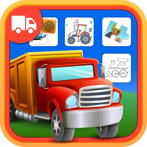 Trucks For Kids: Activity Center Things That Go HD
