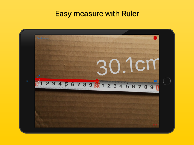 ‎Ruler - tape measure length Screenshot