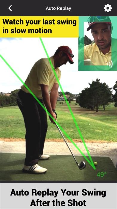 Swing Profile Golf Analyzer screenshot two