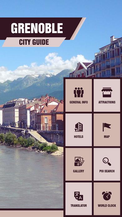 Grenoble Travel Guide screenshot two