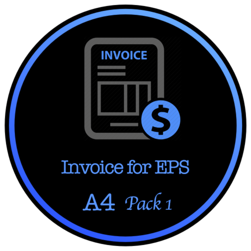 Invoice for EPS - A4 Size