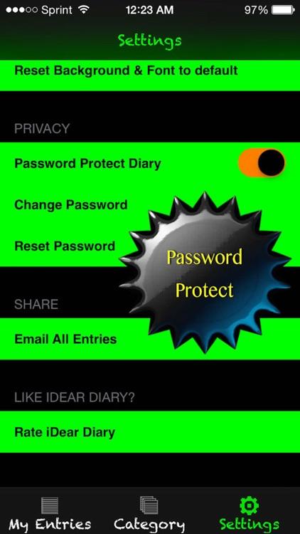 iDear Diary screenshot-4