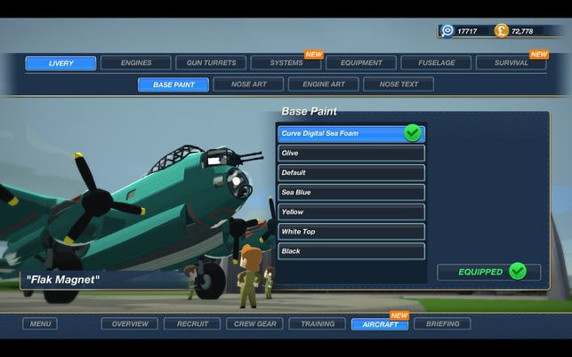 Bomber Crew, game for IOS