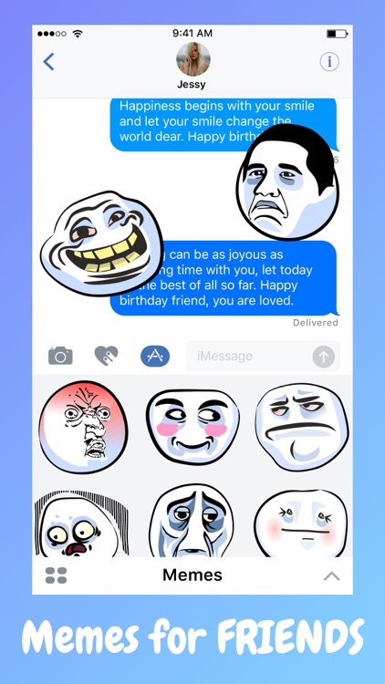 Prank Bae Meme Faces Stickers