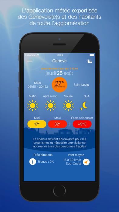messages.download Météo Genève software