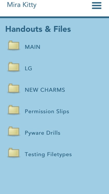 Charms Blue – Student App screenshot-3