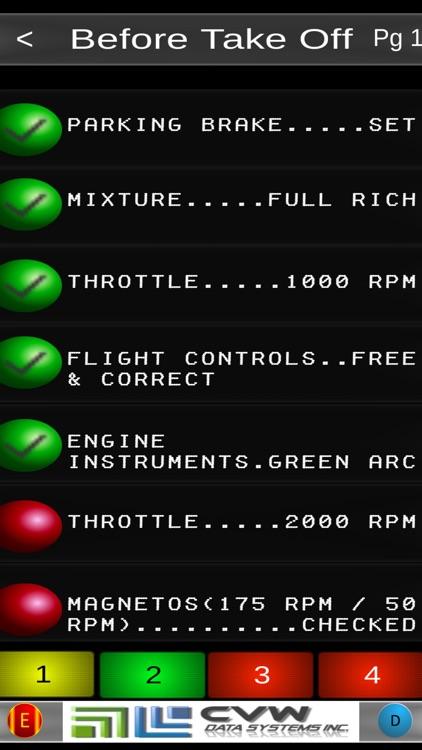 Victor's Piper 28 181 Checklist screenshot-3