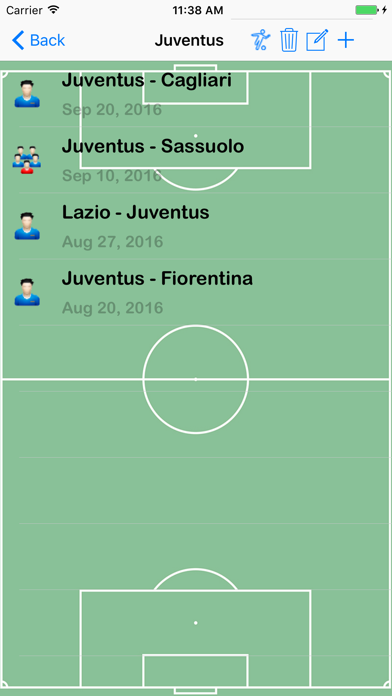 iSoccer Scout screenshot two