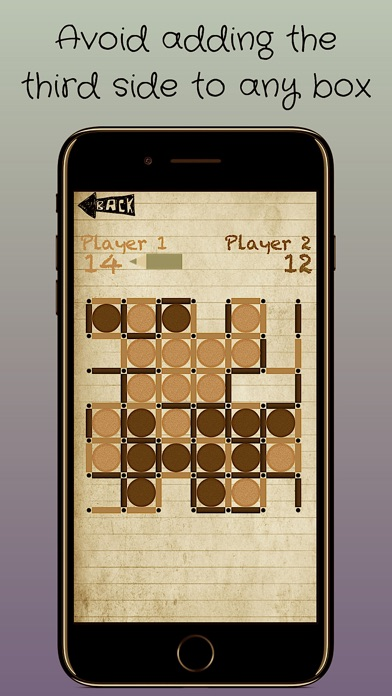 Dots and Boxes : Premium! screenshot 2