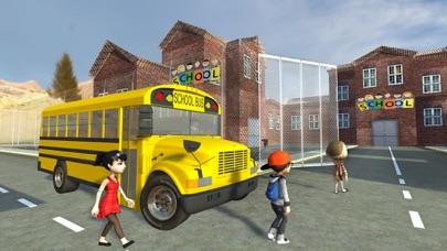 Crazy School Bus Transport Sim screenshot three