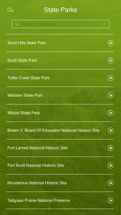 Screenshot #3 pour Kansas State Parks