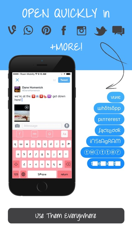 Better Fonts Pro - Now With Cool Font & Custom Designed Keyboards! screenshot-3