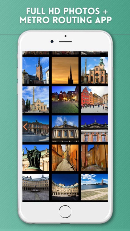 Stockholm Travel Guide with Offline Map & Metro screenshot-4