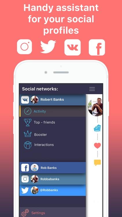 Social Panda PRO - Your network profile assistant