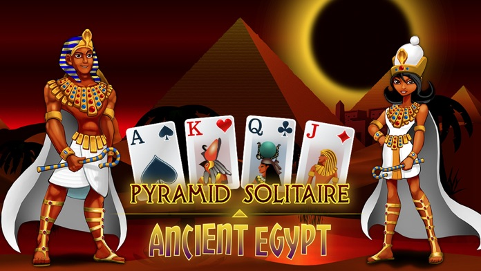 Pyramid Solitaire - Egypt Screenshot