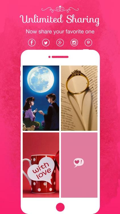 Romantic Wallpapers & Backgrounds screenshot-4