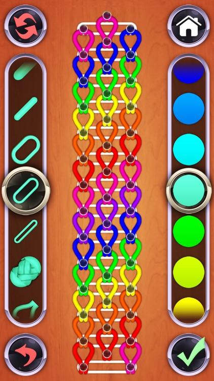 Rainbow Loom Designer screenshot-3