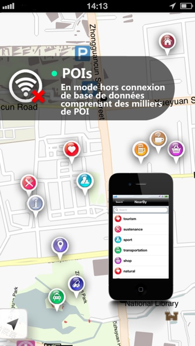 Screenshot for f2 Carte in France App Store