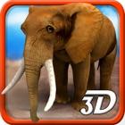 3D Elephant Simulator - Wütend Animal Simulator icon