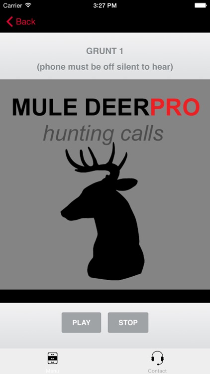 REAL Mule Deer Calls - BLUETOOTH COMPATIBLE