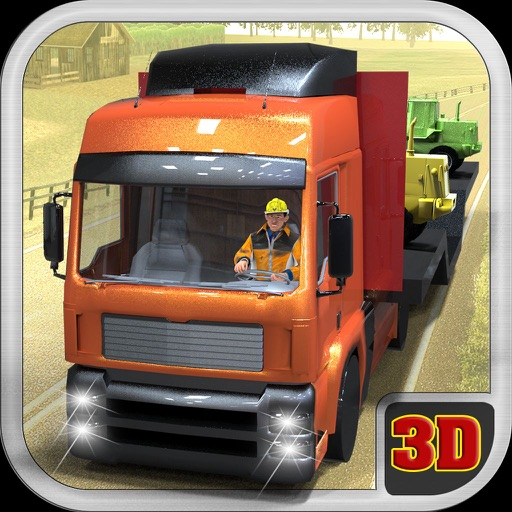 Farm Tractor Transport Truck - Extreme Truck Driving & Parking