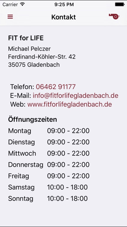 FIT for LIFE Gladenbach screenshot-4