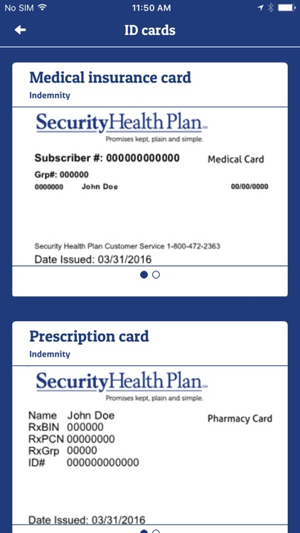 My Security Health Plan screenshot-3