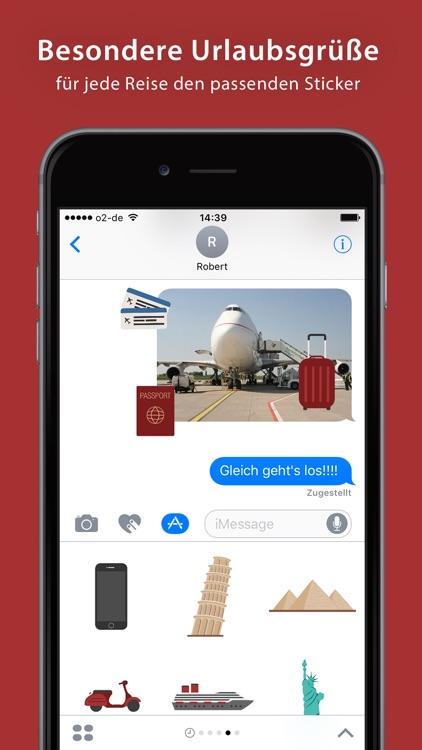Travel Sticker Pack - iMessage screenshot-4