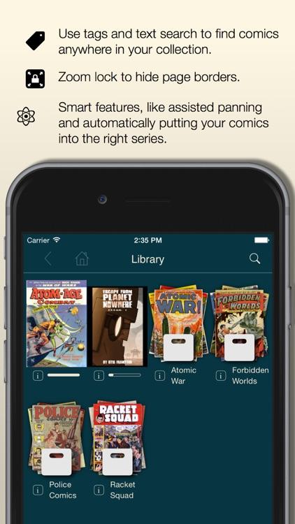 Comic Zeal Comic Book Reader