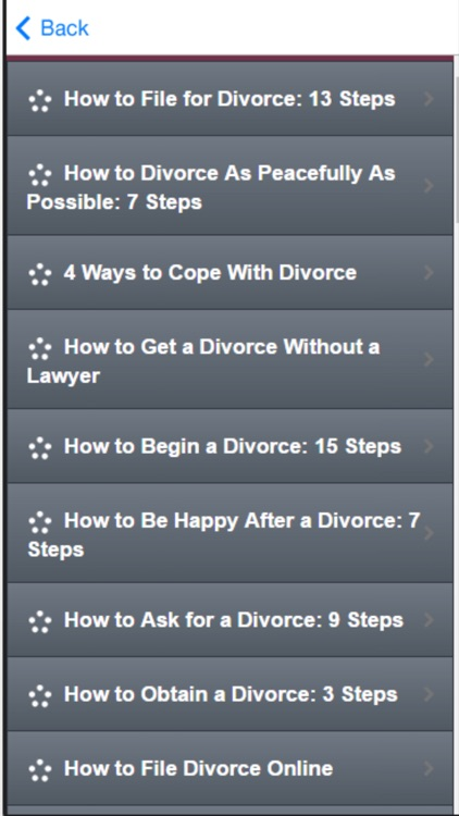 How to Divorce