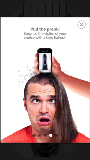 Bruit tondeuse cheveux iphone