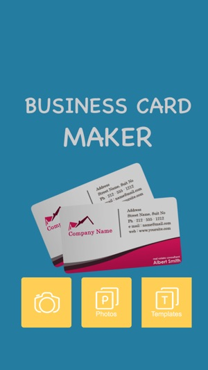 Business card maker pro on the app store iphone ipad reheart Choice Image