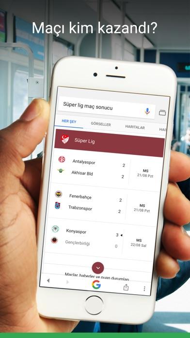 Screenshot for Google in Turkey App Store